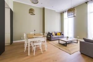 Les appartements de The Colivers sont meublés et équipés de toute commodité