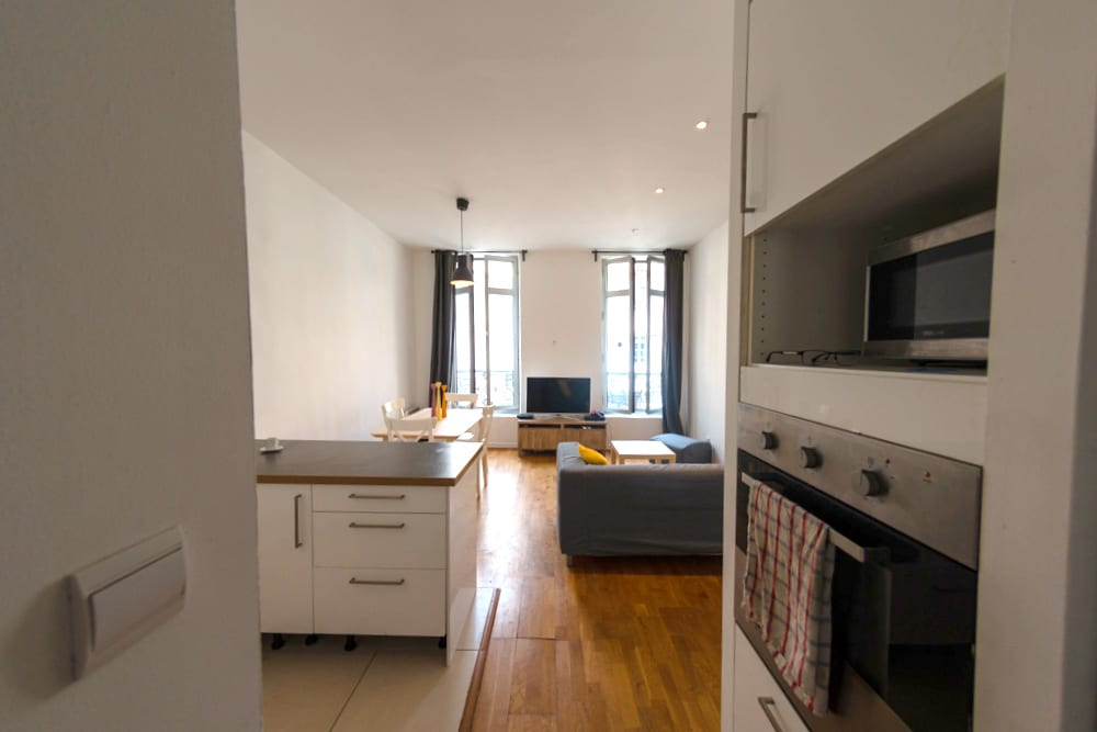 Furnished shared apartment in Rome street Marseille