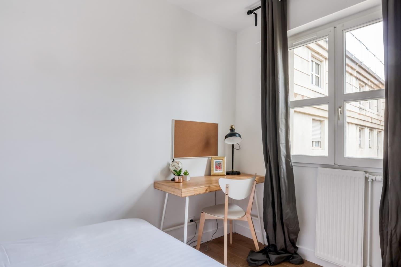 Chambre en colocation rue d'athènes à Montpellier Antigone