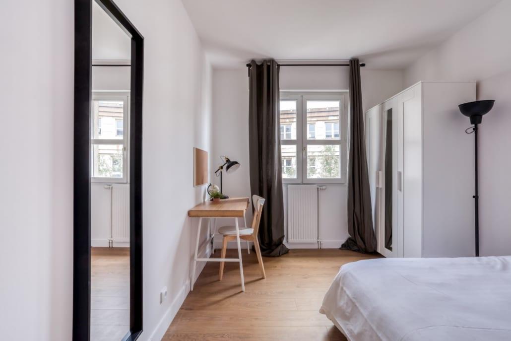 Chambre colocation de la rue d'athènes Montpellier Antigone