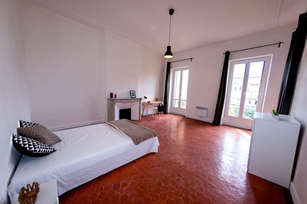 Chambre en colocation au Prado Marseille